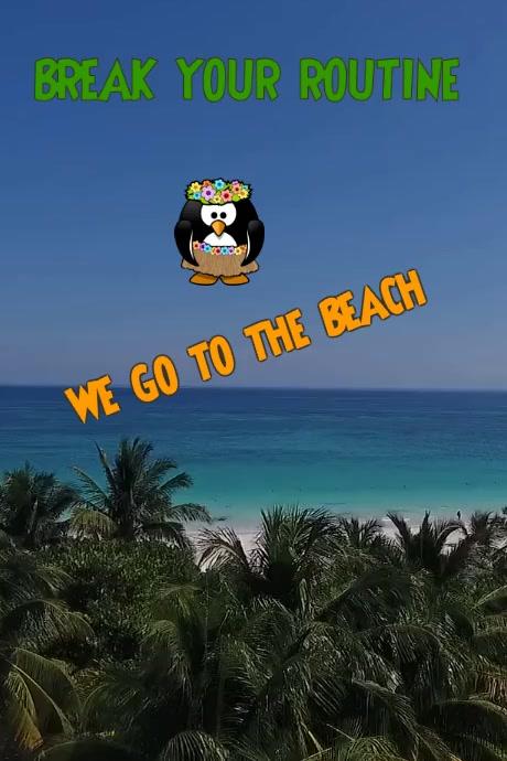 BEACH HAPPY MUCH VERI GOOD