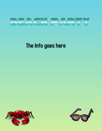 Beach Party Template