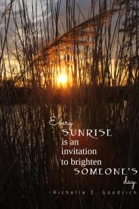 Beach Sunrise Quote