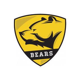Bear Logo editable Text