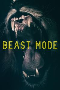 beast-mode inspirational poster