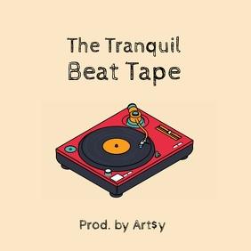 Beat tape turntable album cover video