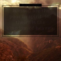 Beatitudes Blessings Instagram Video Template Iphosti le-Instagram