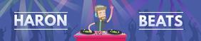 Beats Music DJ Soundcloud Banner
