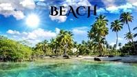 beautiful beach scenic view nature video Miniature YouTube template