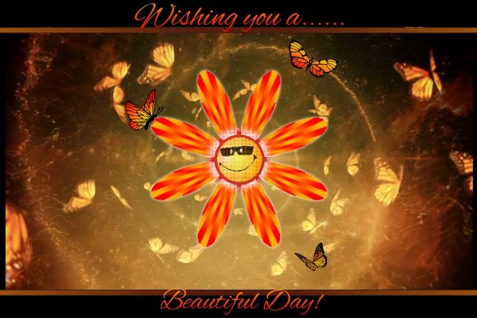 Beautiful Day Video Card