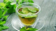 beautiful green tea leaves for health video YouTube Duimnael template