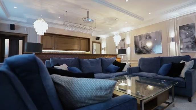 Beautiful home interior design video template