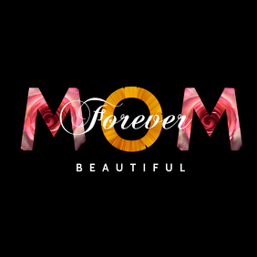Beautiful Love Mother's Day Template