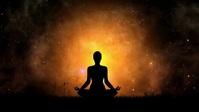 Beautiful meditation routine video YouTube Thumbnail template