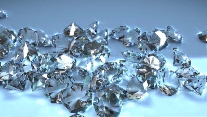 beautiful shining diamond Gambar Mini YouTube template