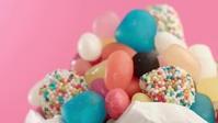 Beautiful sweet candy bar video YouTube Thumbnail template