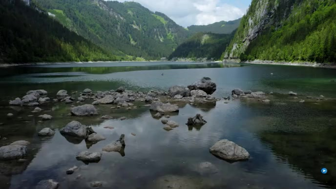 beautifull lake Miniatura de YouTube template