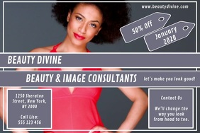 Beauty & Image Poster template