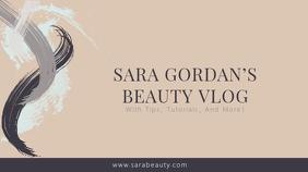 Beauty & Health Youtube Channel Art Template