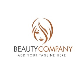 Beauty and fashion design template Logotipo