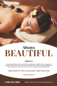 Beauty and Health Flyer