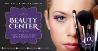 BEAUTY CENTER BANNER Gambar Bersama Facebook template