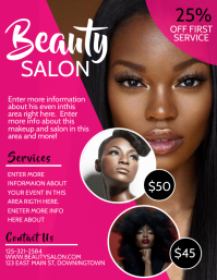 570 Hair Salon Customizable Design Templates Postermywall