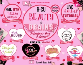 BEAUTY EVENT FLYER