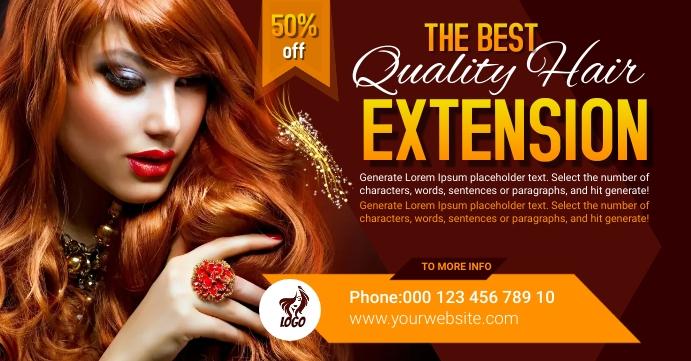 Beauty Facebook Event Photo template