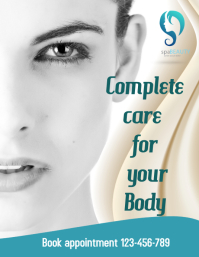 beauty flyer,health and spa services