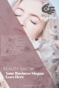Beauty Hair Salon Hairdresser Flyer Template