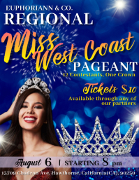 Beauty/Pageant Contest Flyer template