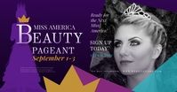 Beauty Pageant Facebook Shared Image template