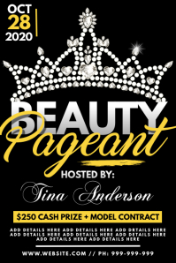 Beauty Pageant Poster