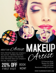 1 020 customizable design templates for makeup postermywall