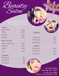 Beauty Salon Business Card Tanning Company Flyer Template Similar Design Templates