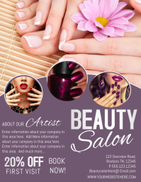 Design Free Beauty Salon Flyers Postermywall