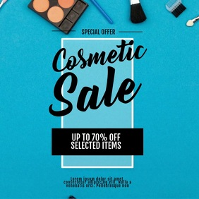 Beauty Product Cosmetic Sale Video Template