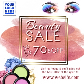 Beauty Sale Template