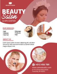 Beauty Salon & Spa Flyer Design