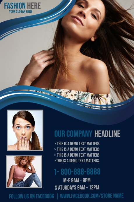 Beauty Salon & Spa Sale Template