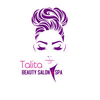 beauty salon and span hair salon and nails Portada de Álbum template