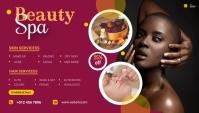Beauty Salon Blog header Igama LeBhulogi template