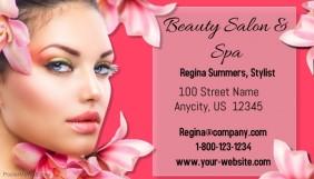 Customizable design templates for beauty salon business card beauty salon business card colourmoves