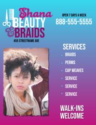 Beauty Salon Flyer