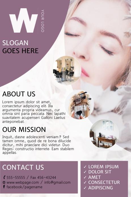 Beauty Salon Flyer Template | PosterMyWall