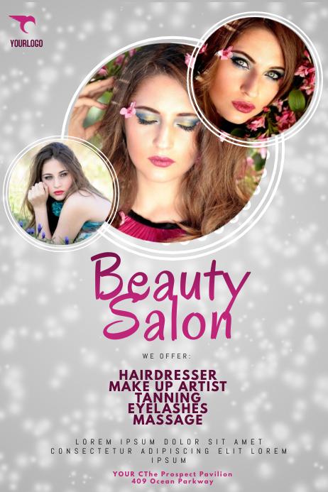 Superior Beauty Salon Flyer Template