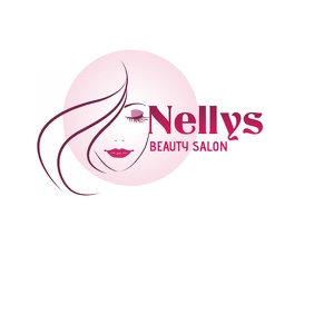 BEAUTY SALON LOGO SALAO DE BELEZA LOGOTIPO HA