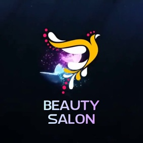BEAUTY SALON LOGO SOCIAL MEDIA template