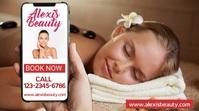 Beauty Salon Marketing Social Media Template Présentation (16:9)