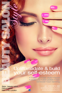 Customizable Design Templates for Beauty Salon | PosterMyWall