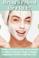 Beauty Salon Friend For Free Facial Body Treatment