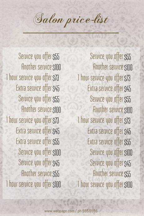 template list