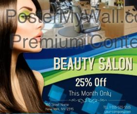 Beauty Salon Sale Template